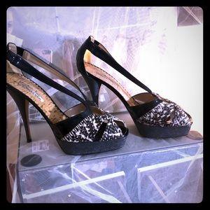 Oscar de la rents high heels